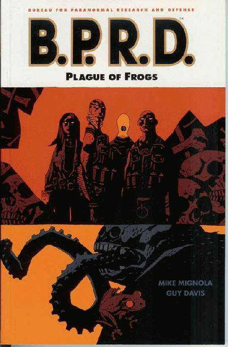 BPRD Vol 03 Plague of Frogs