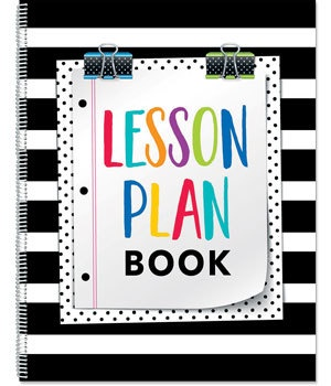 CTP 2092 BOLD & BRIGHT LESSON PLAN  BOOK