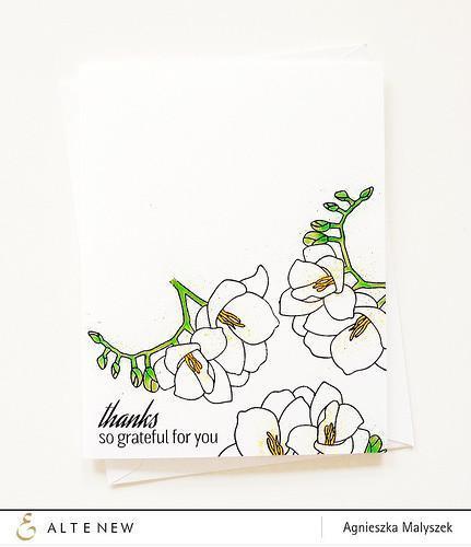 Altenew-Fresh Freesia Stamp