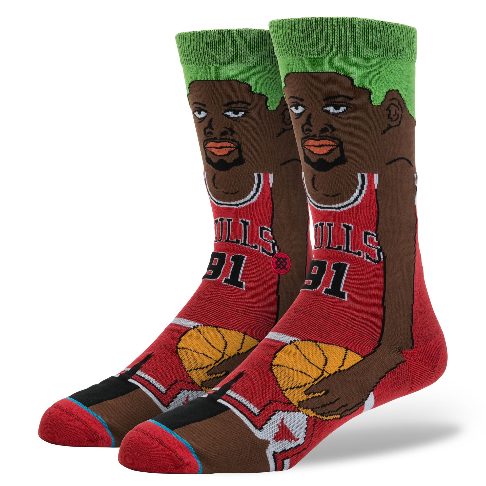 STANCE - NBA RODMAN RED