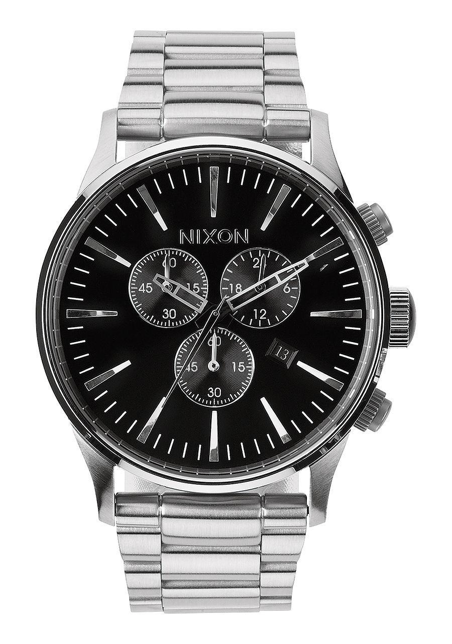NIXON - SENTRY CHRONO BLACK A386 000-00