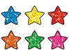 T 46405 COLORFUL SPARKLE STAR SHAPE STICKERS