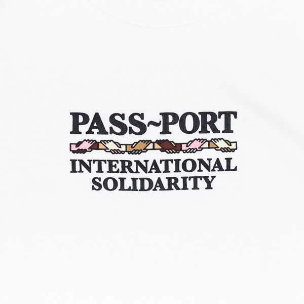 Pass~Port Inter Solid Tshirt White