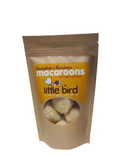 Little Bird Passionfruit Macaroon