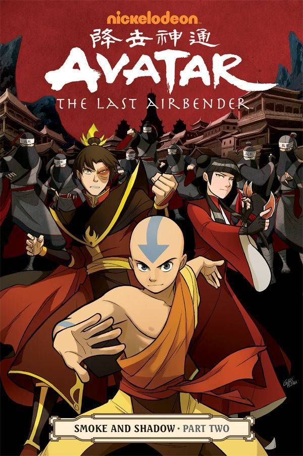Avatar Last Airbender Vol 11 Smoke & Shadow Part 2