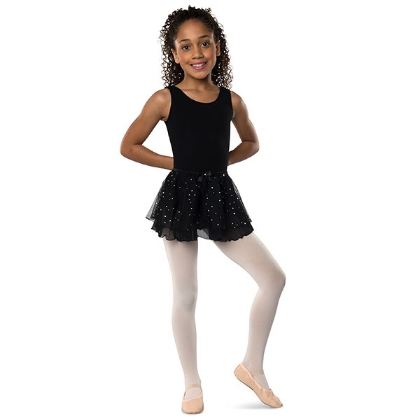 Danshuz Child Hologram Dot Circle Skirt (233)