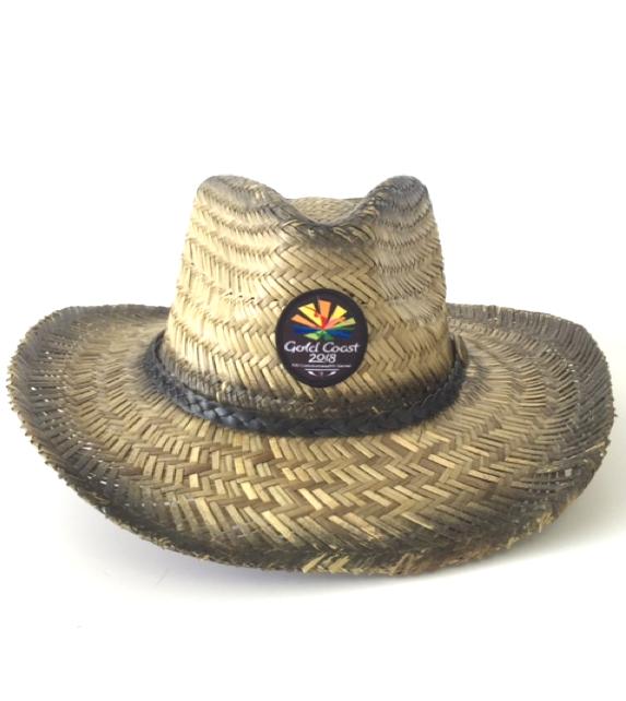 Straw Beach Hat Image