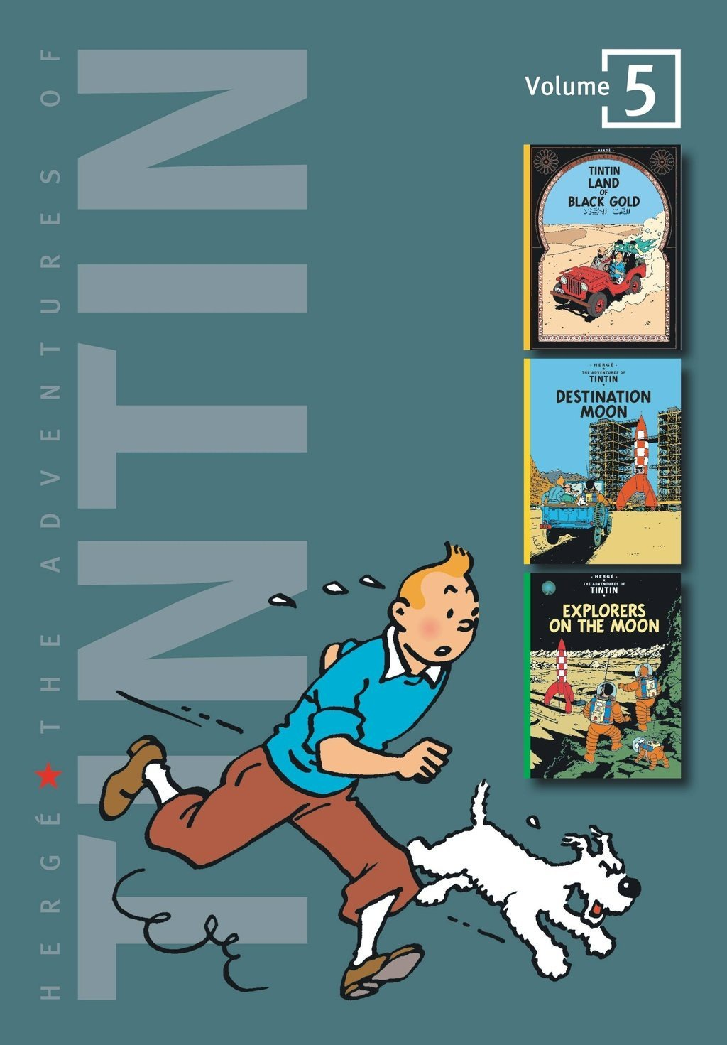 Adv of Tintin 3-In-1 Ed HC Vol 05