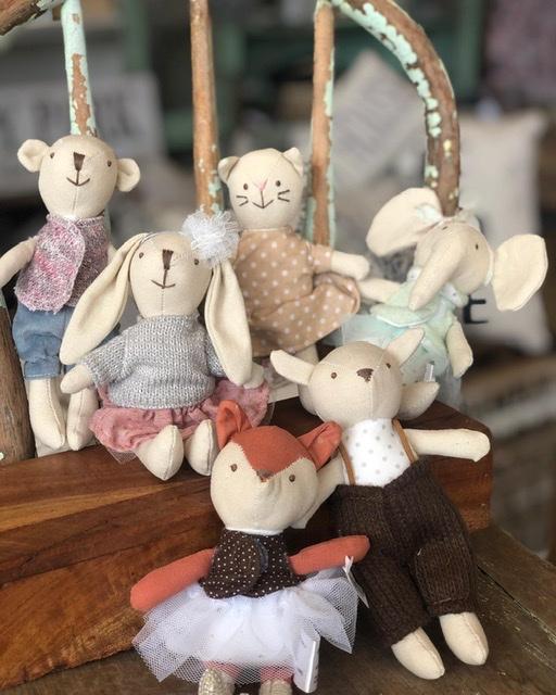 CC-Cotton Plush Animal / Asst