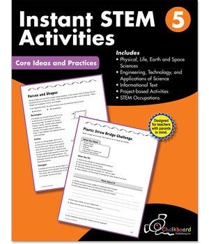 CTP 8197 INSTANT STEM ACTIVITIES GR. 5