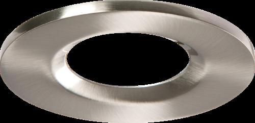 Brushed Chrome Bezel for VFRCOB Downlights