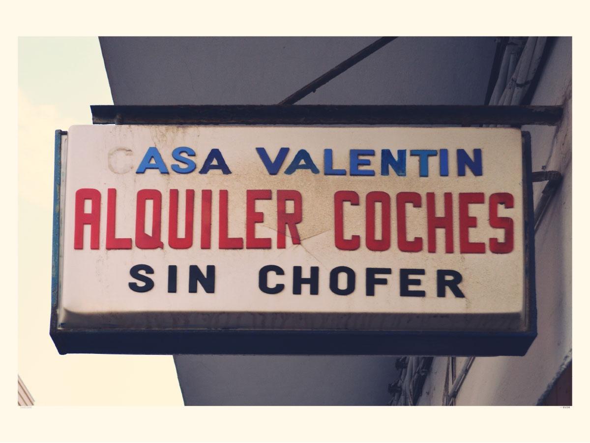 Coches sin Chofer - Casa Valentin