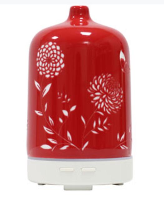 Ceramic Aroma Diffuser - Red