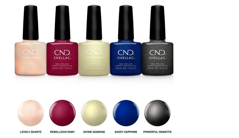 Cnd Shellac Crystal Alchemy Colour Collection