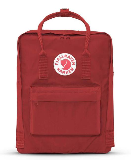 lower price with temperament shoes detailed images FJALLRAVEN - KANKEN BACKPACK IN DEEP RED