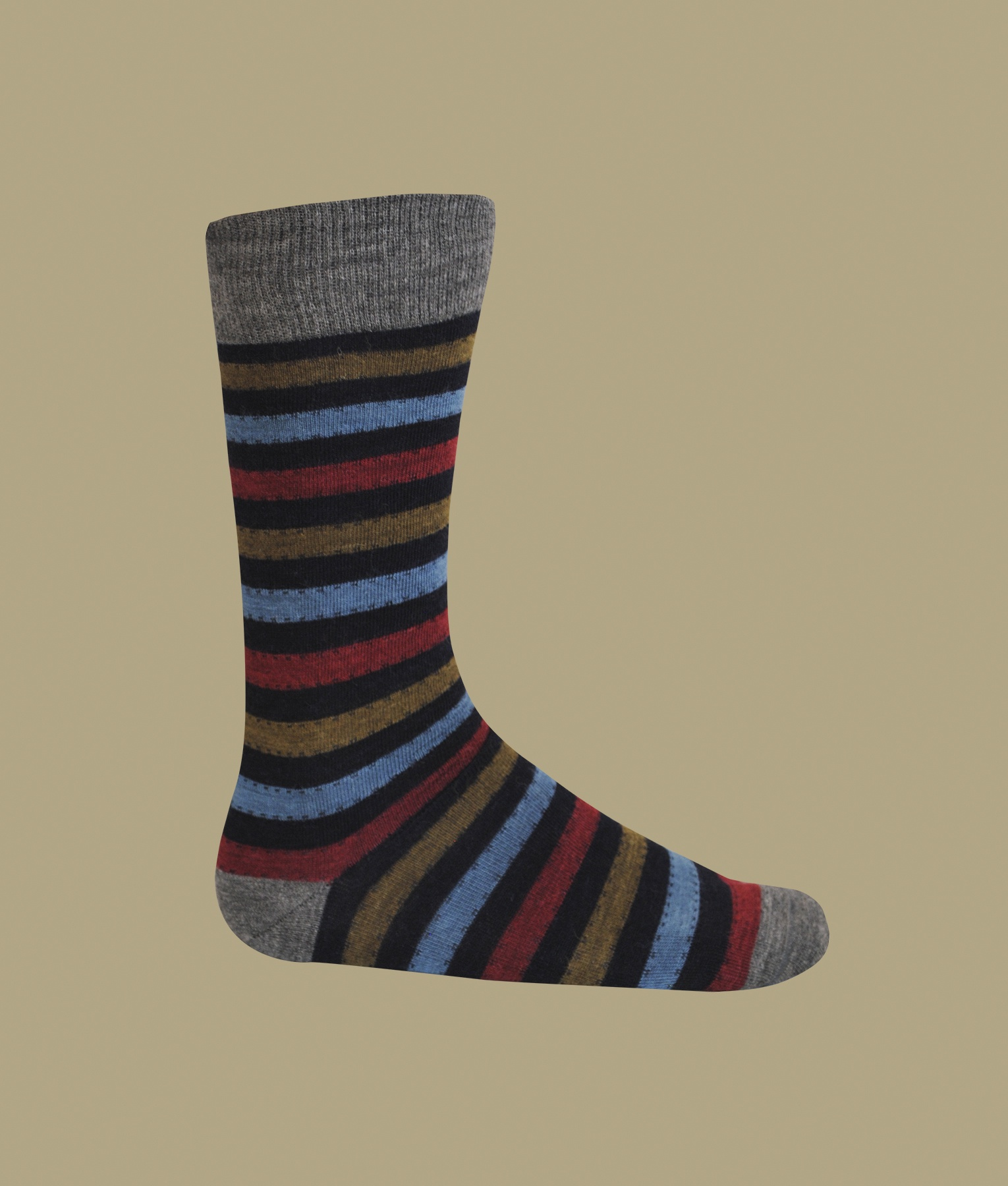 MULTI STRIPES SOCKS, MEN'S