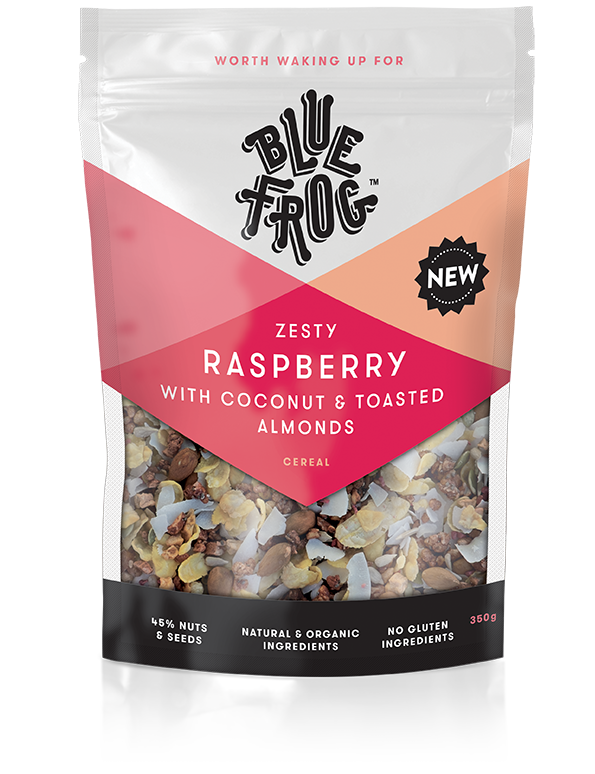 Blue Frog Breakfast Zesty Raspberry Cereal