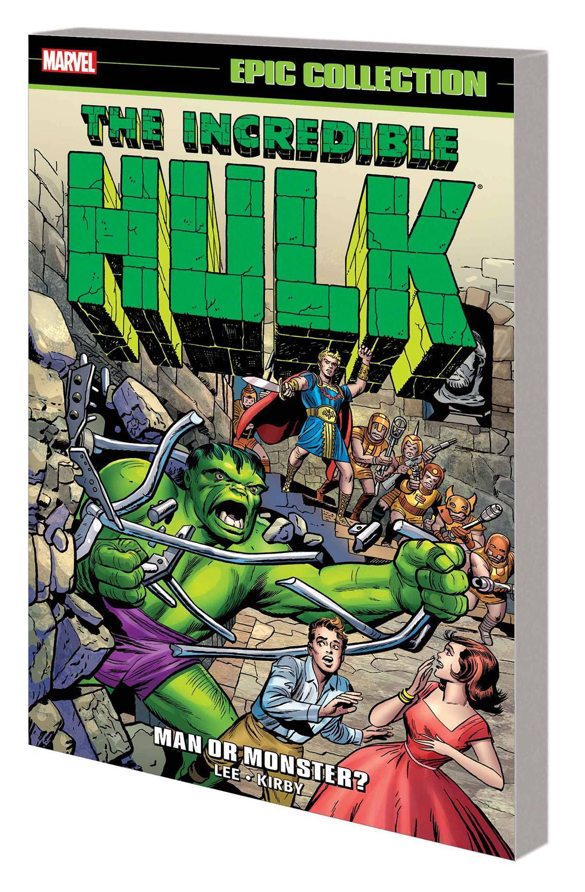 Incredible Hulk Epic Collection TP Man Or Monster