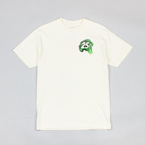 Quartersnacks Veggie Snackman Tshirt Cream