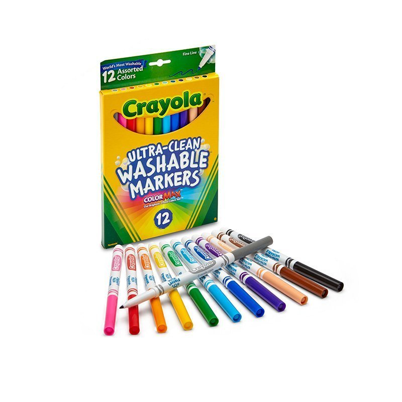 CRAYOLA WASHABLE FINE LINE MAR