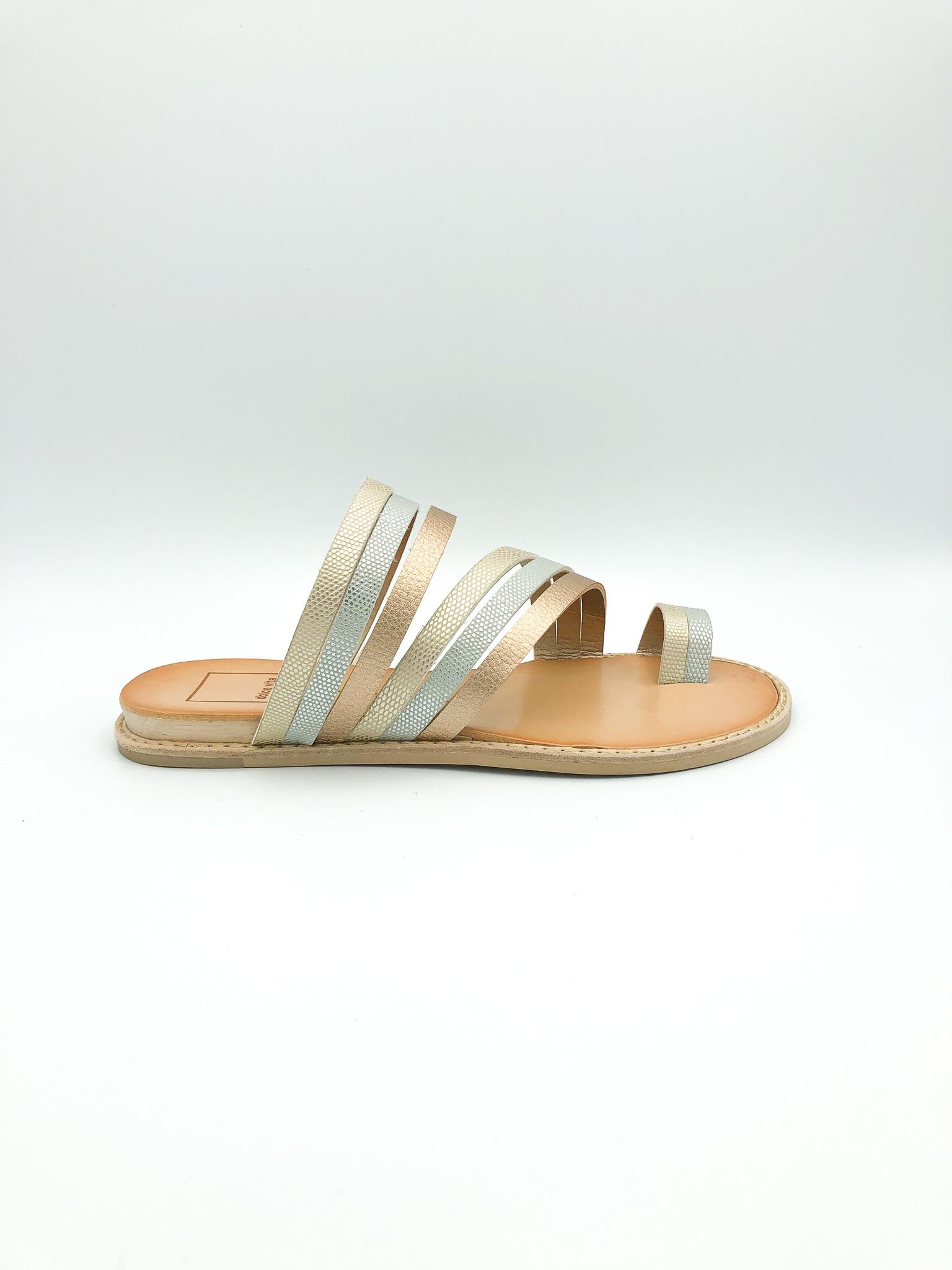 092ec50b1619 DOLCE VITA - NELLY SANDALS IN METALLIC - the Urban Shoe Myth