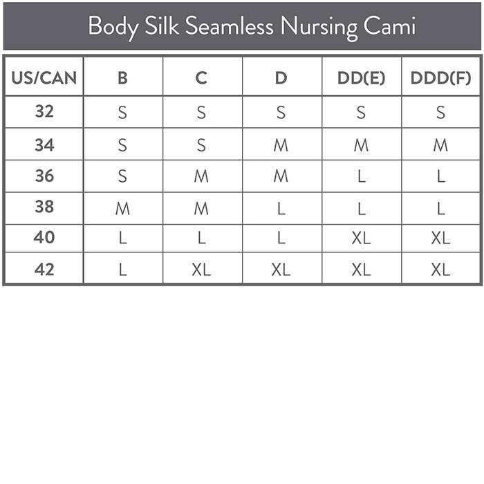 fa719c58148ab Bravado Body Silk Seamless Nursing Cami White