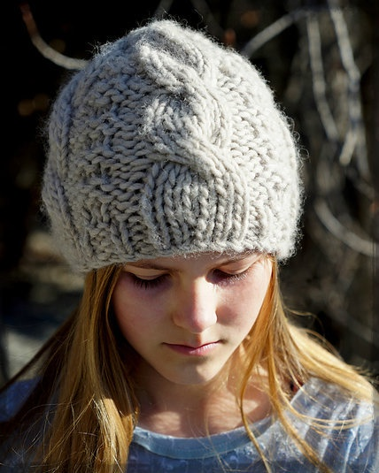 Eliza Cable Beanie