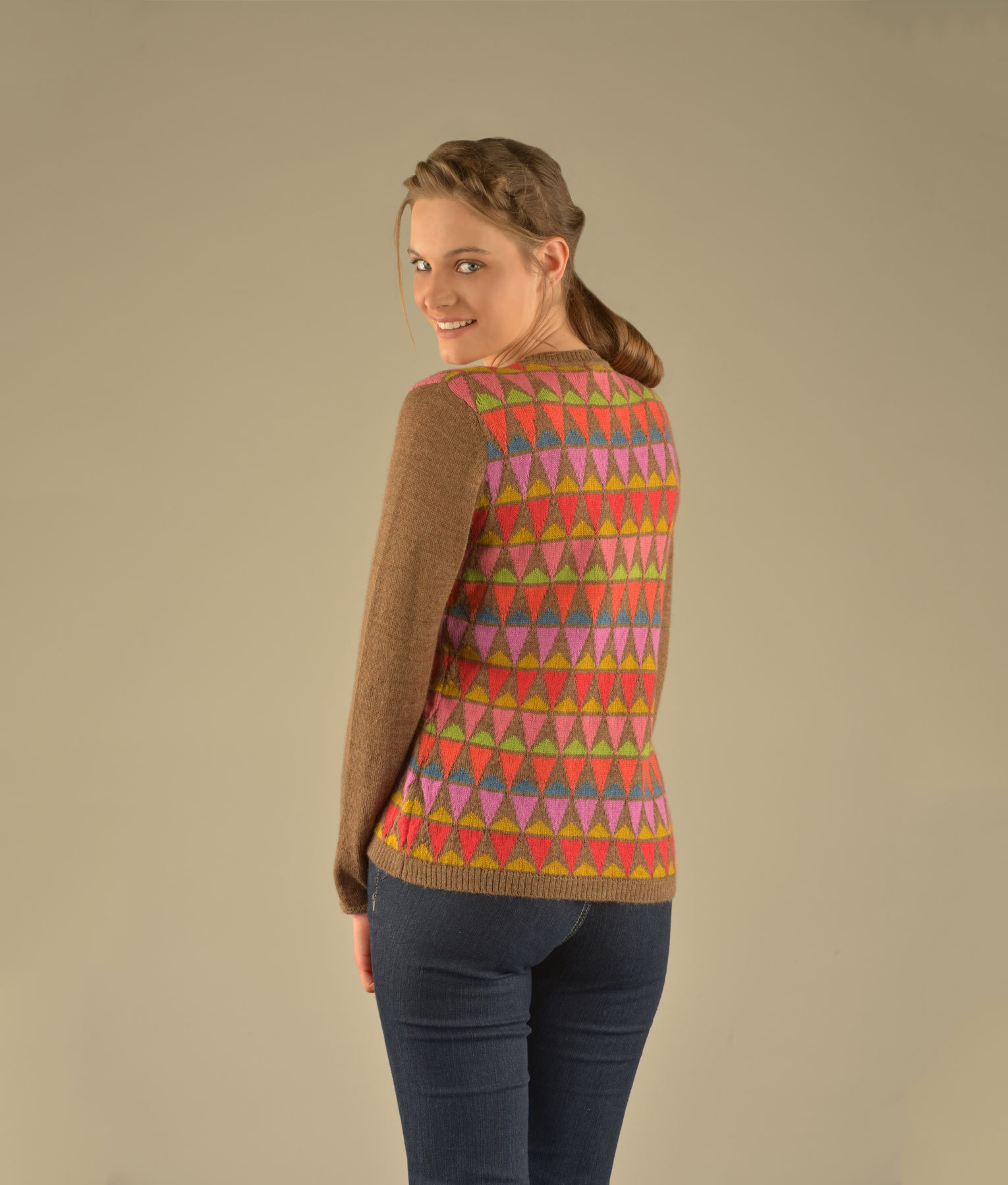 CONES UP & DOWN PULLOVER C002