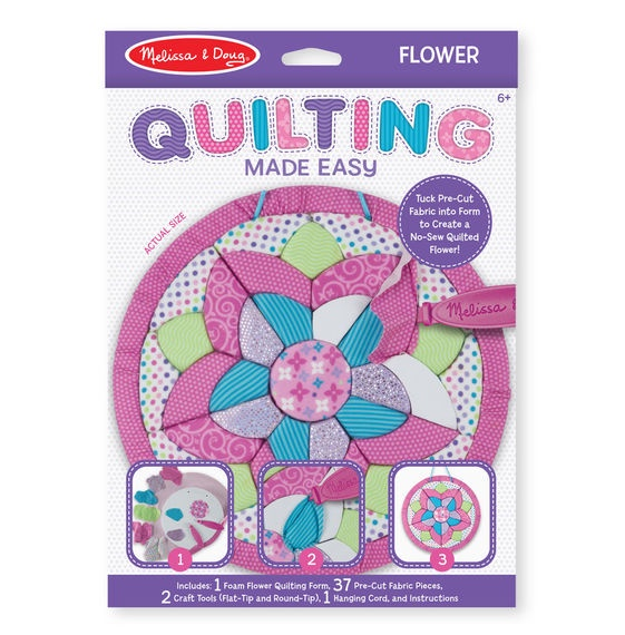 X MD 30091 QUILTING MADE EASY FLOWER