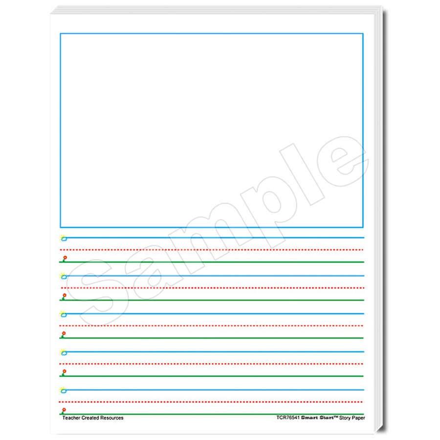 X TCR 76541 SMART START 1-2 STORY PAPER 100