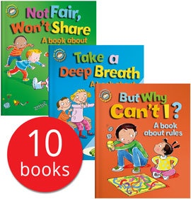 OUR EMOTIONS AND BEHAVIOURS COLLECTION (10 BOOKS)