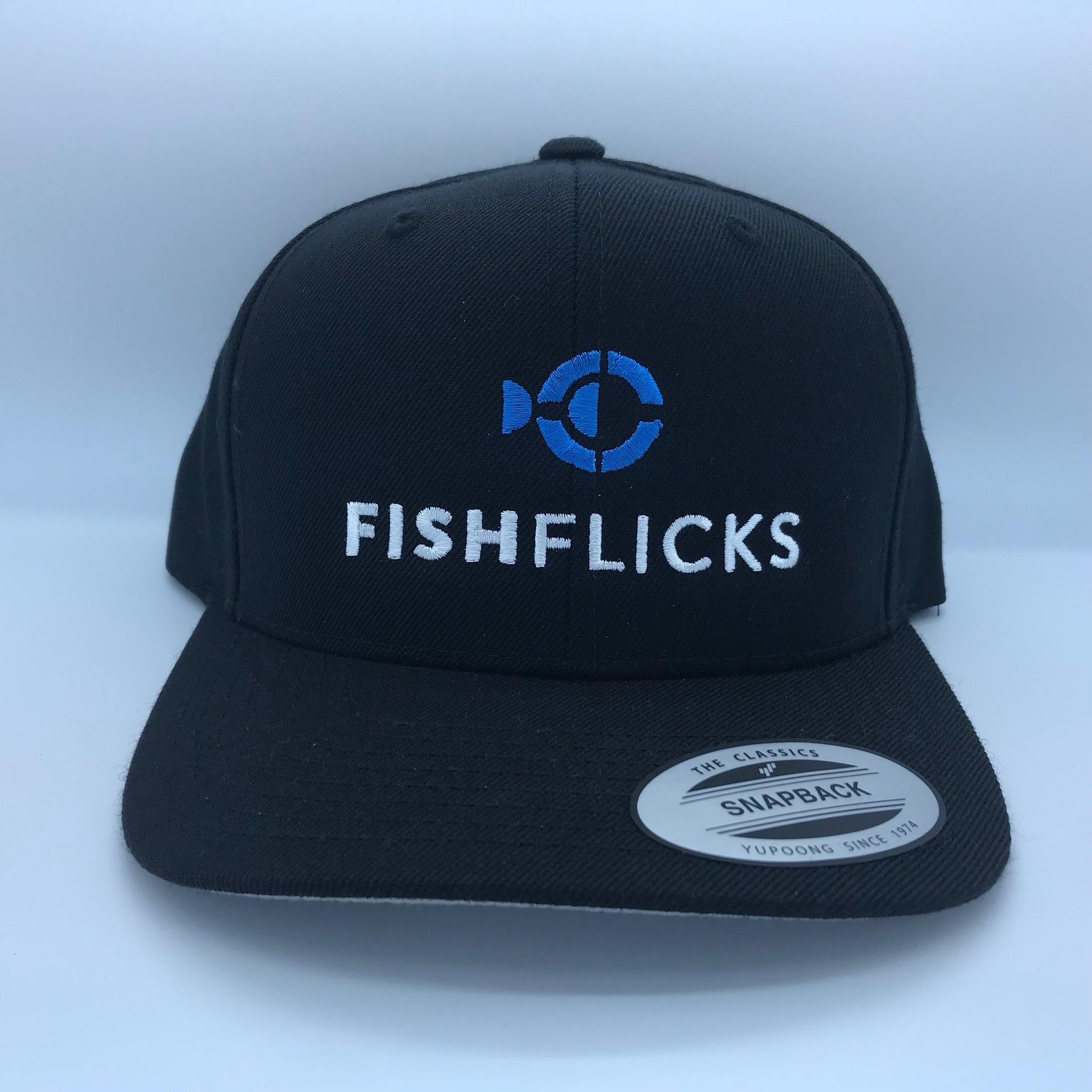 f03b1e2e8b261 Classic Snapback Cap - Fish Flicks