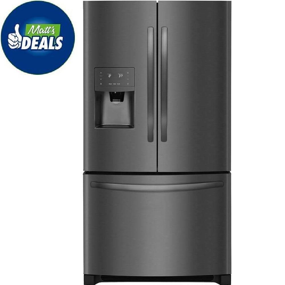 Frigidaire Gallery 272 Cu Ft French Door Refrigerator In Black