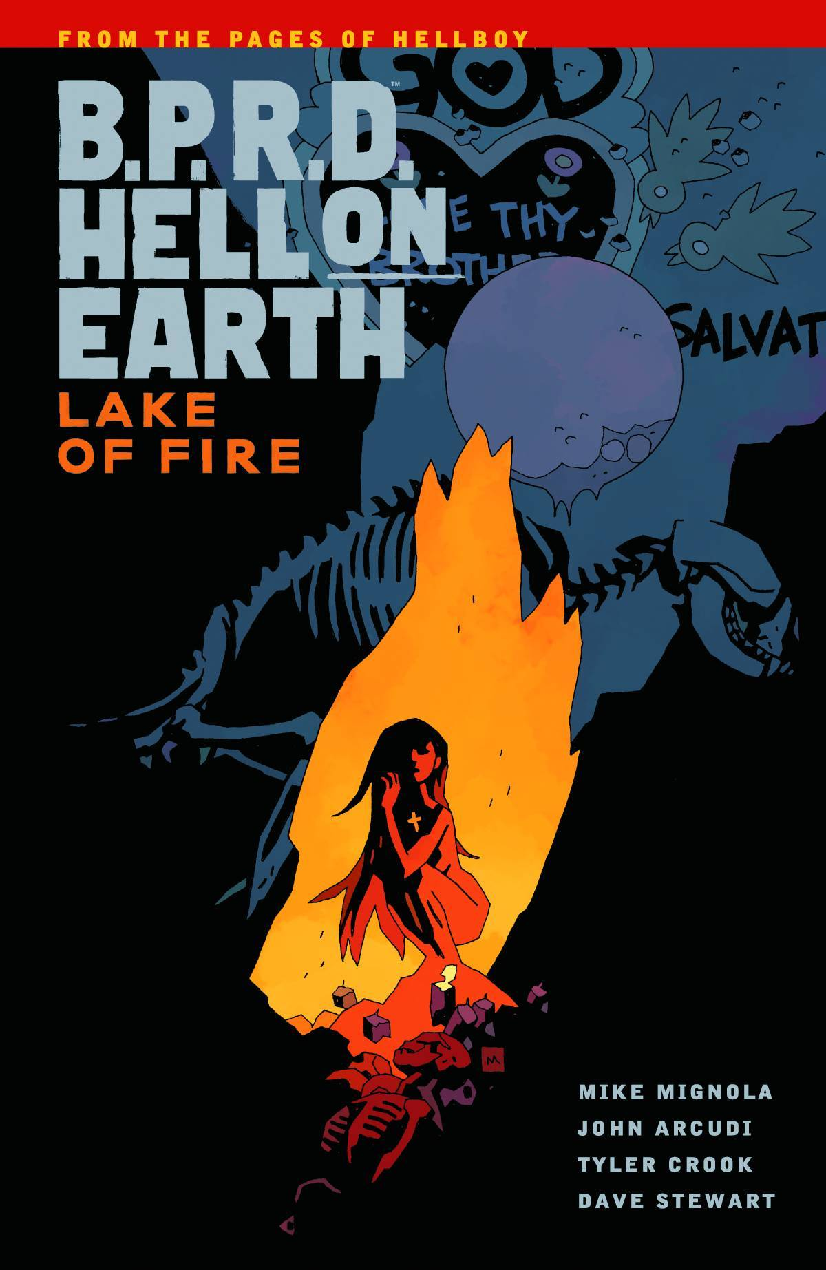 BPRD Hell On Earth Vol 08 Lake of Fire