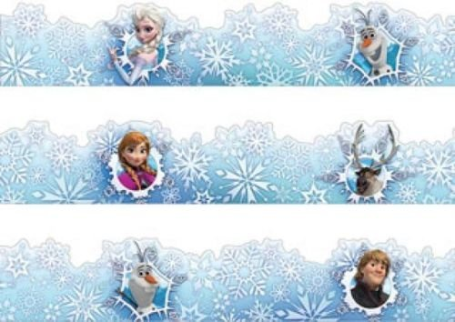 X EU 845602 Disney Frozen Deco Trim Border