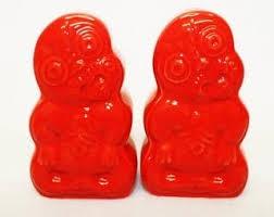 TIKI SALT & PEPPER - RED