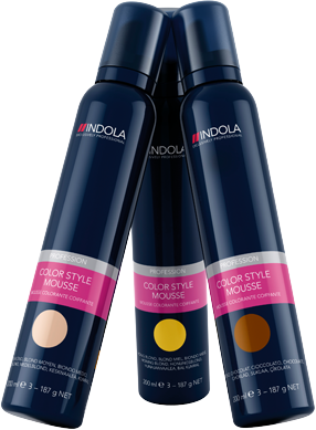 Indola Color Style Mousse, 200Ml | Spirit Hair and Beauty Supplies