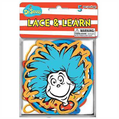 X EU 867521 DR SEUSS LACE AND LEARNS