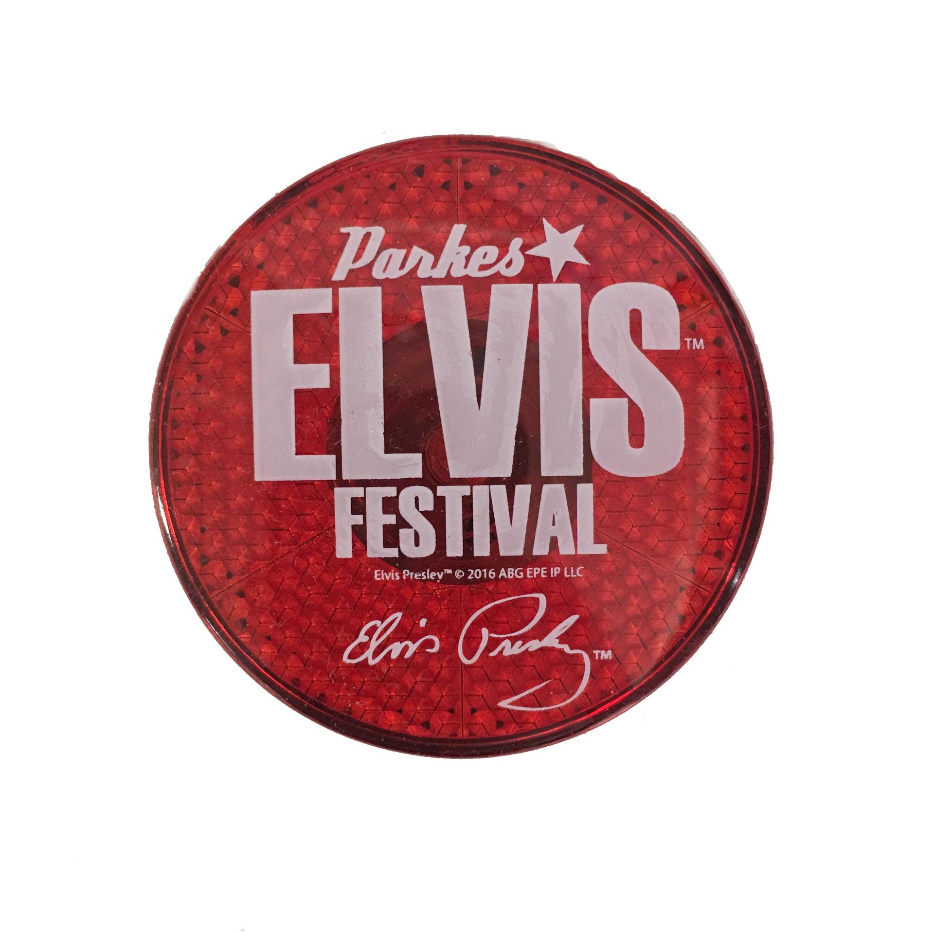 Festival Flasher Badge