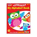 T 94117 MY ALPHABET OWLSTAR WIPE OFF BOOK