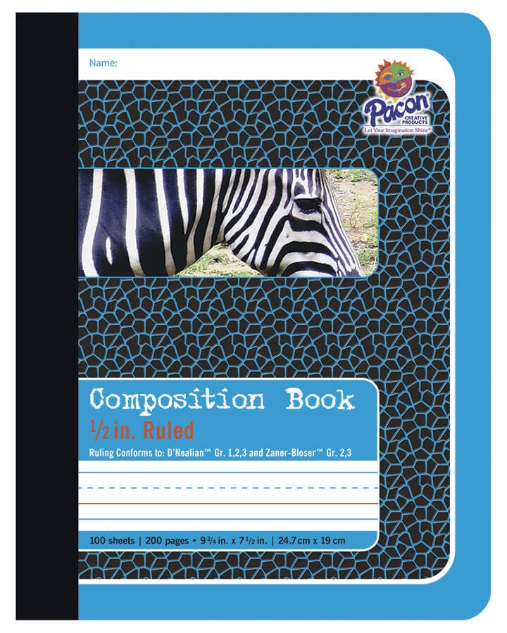S/O PA 2425 HANDWRITING COMPOSITION NOTEBOOK