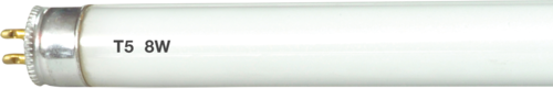 230V 8W T5 Fluorescent Tube 300mm Cool White 3500K