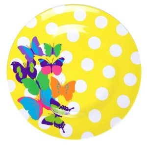 Ginger Butterflies Dinner Plate