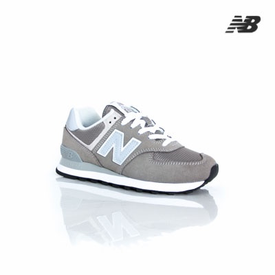 meet 41d75 55375 New Balance Classic Grey Suede W WL574EG