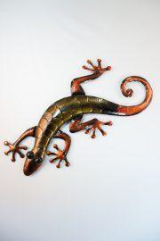 Bronze large gecko
