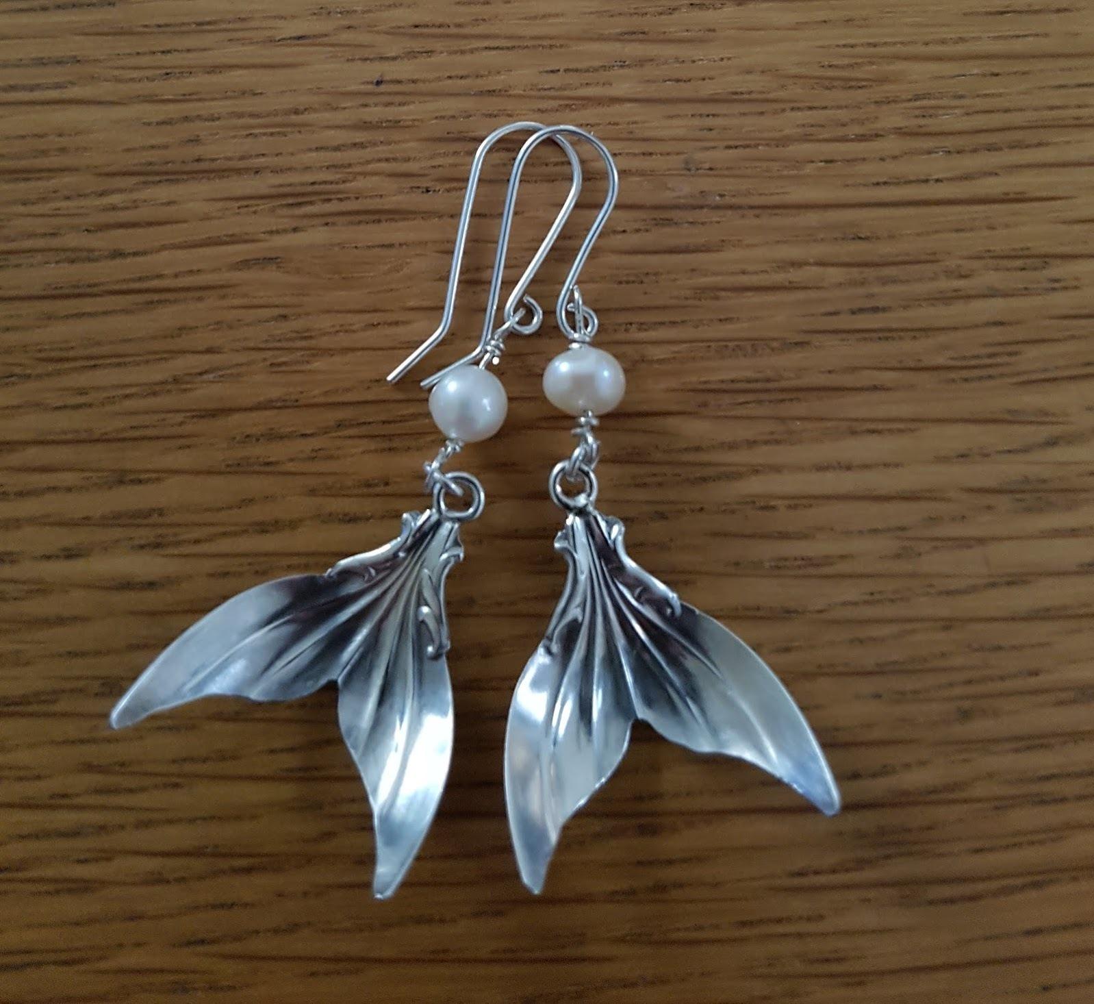 Mystical Mermaid Tail Earrings