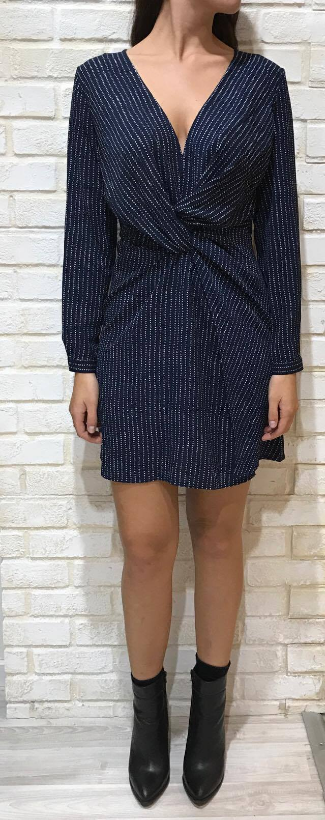 KNOT FRONT DRESS / P513827 Image