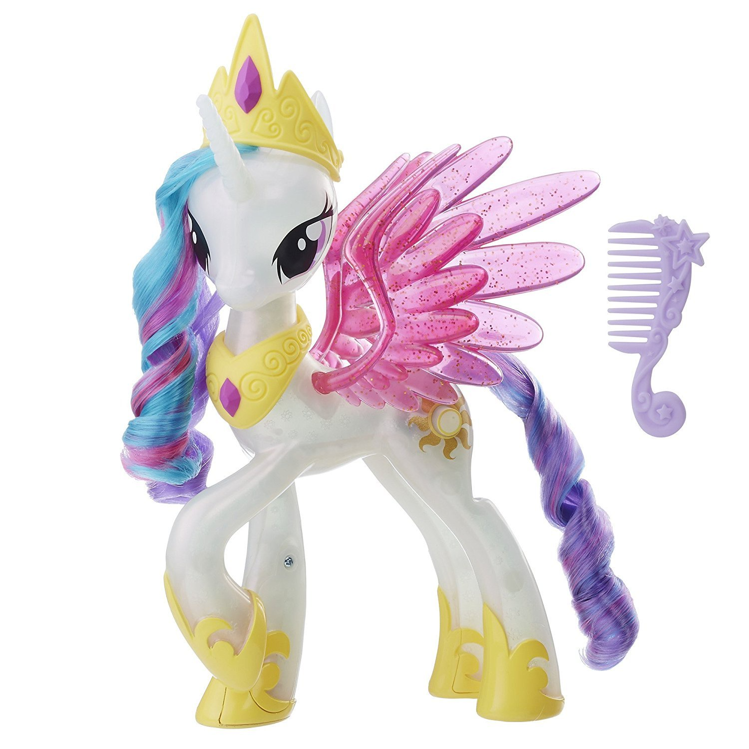 MY LITTLE PONY THE MOVIE PRINCESS CELESTIA GLITTER & GLOW