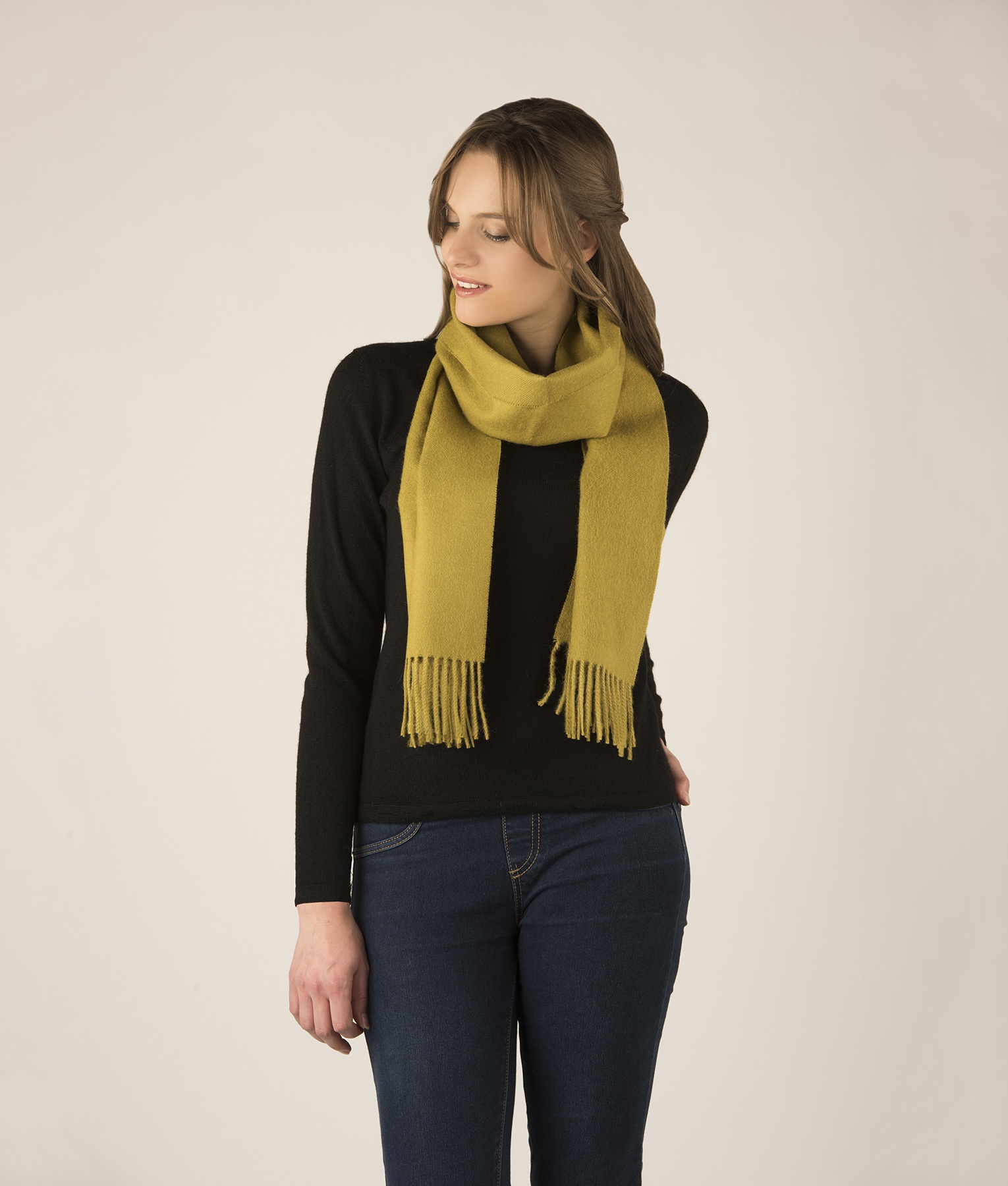 LONG BRUSHED SCARF VR110020