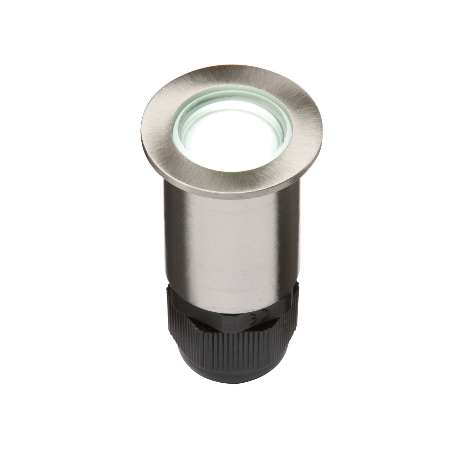 IP67 Small Stainless Steel Ground Fitting 4 x White LED